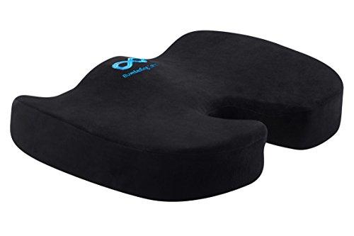 Everlasting Comfort 100% Pure Memory Foam Luxury Seat Cushion,