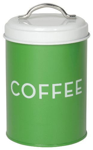 Now Designs Coffee Tin, Green