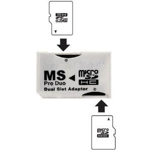 ms-pro-duo-adapter-converts-two-microsd-or-microsdhc-cards-to-ms-pro-duo-compatible-with-psp-support