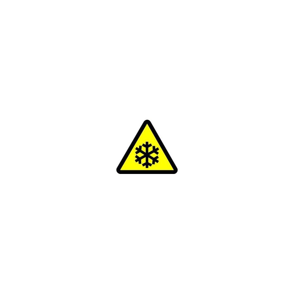 WARNING Labels LOW TEMPERATURE HAZARD 8 Adhesive Dura Vinyl
