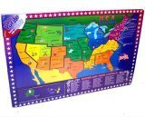 Picture of Forever Toys United States & State Capitals Wooden Puzzle (B000I4MONO) (Floor Puzzles)