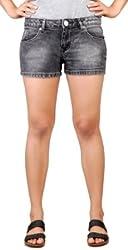 Klorophyl Women Grey Hot pants