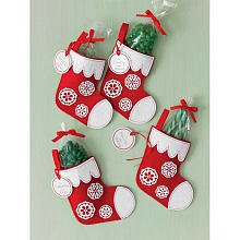 Martha Stewart Crafts Holiday Felt Stocking Treat Box