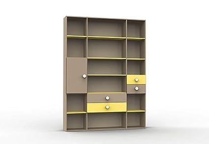 Librerie per il tuo soggiorno. Tutto in diversi misure e colori.