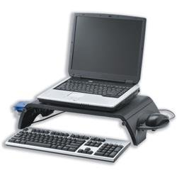 Compucessory Monitor Stand for Laptop and TFT LCD 15-17 inch Collapsible Platform W380xD305 Ref CCS55801