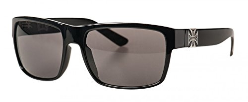 West Coast Choppers Sonnenbrille FTW Smoked Lenses, Farbe:shiny black;Größe:one size