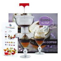 coffret irish coffee cocktail master 2 verres cuisine maison. Black Bedroom Furniture Sets. Home Design Ideas