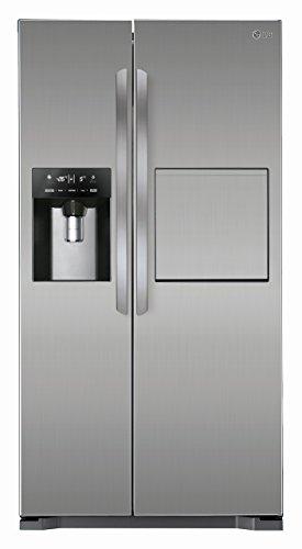 LG-GSP-325-pzcv-Side-by-Side-RfrigrateurConglateur-A-hauteur-1753-cm-346-L-froid-162-L-gefrieren-Nofrost-Steel