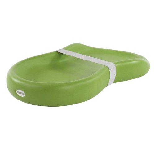 Keekaroo Peanut Diaper Changer, Solid Lime - 1