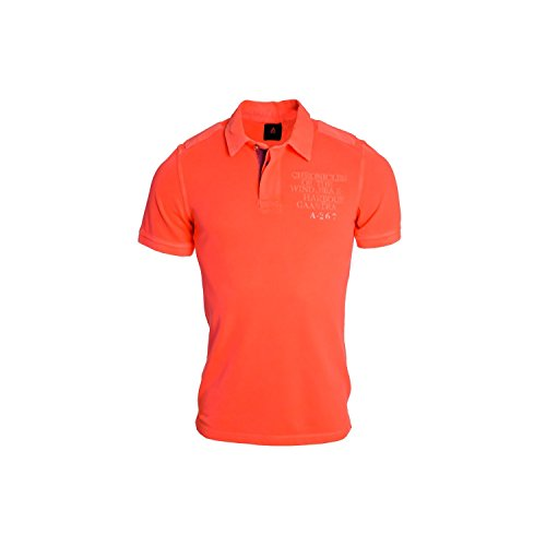 Gaastra-Polo Gaastra Range per uomo, colore: arancione arancione Large