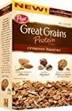 Post, Great Grains, Protein Blend, Cinnamon Hazelnut, 14.75oz Box (Pack of 2)