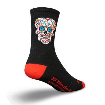 Buy Low Price SockGuy Crew 6in El Dia Cycling/Running Socks (B003FO2QNC)