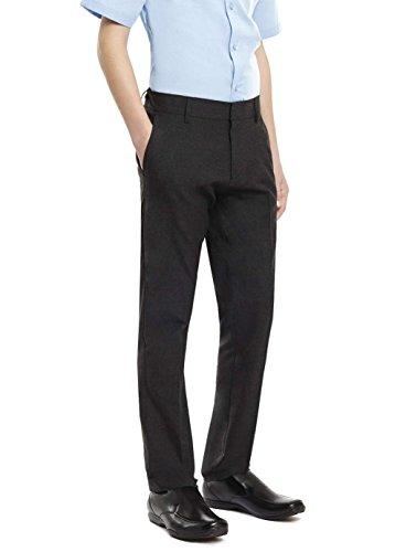 ex-bhs-boys-black-charcoal-grey-slim-fit-skinny-school-trousers-elastic-adjustable-waist-3-16-yrs