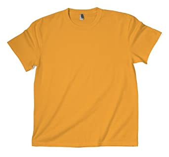 ZYNC Z880 Heavy Weight Cotton T Shirt 6.0 oz (Small, Gold)