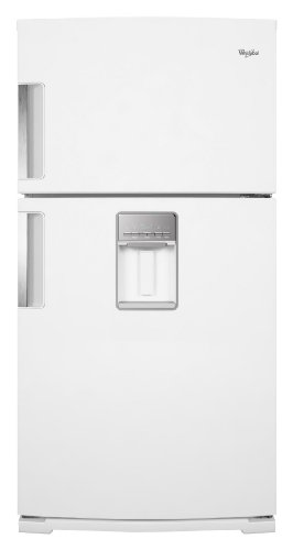 Whirlpool Wrt771Reyw 21.1 Cu. Ft. White Top Freezer Refrigerator - Energy Star front-40502