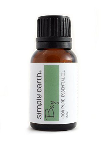 Bay Essential Oil (Laurel Leaf) by Simply Earth - 15 ml, 100% Pure Therapeutic Grade