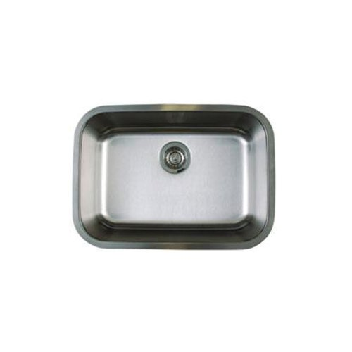 Blanco BL441025 Stellar Medium Single Bowl Undermount Sink, Refined Brushed (27 Kitchen Sink compare prices)