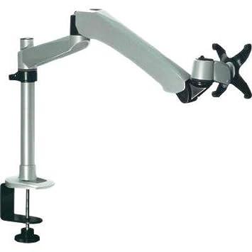 Xergo SuperFlex Monitorhalter, Tischmontage con Gasdruck-Technik con C-Klemme