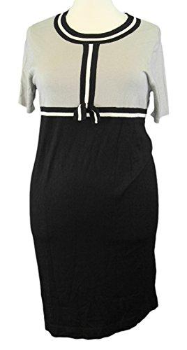 marina-rinaldi-by-maxmara-cantata-taupe-black-colorblock-knit-dress-l