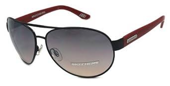 Skechers Women's Designer Sunglasses SK 4018 BLK-49F