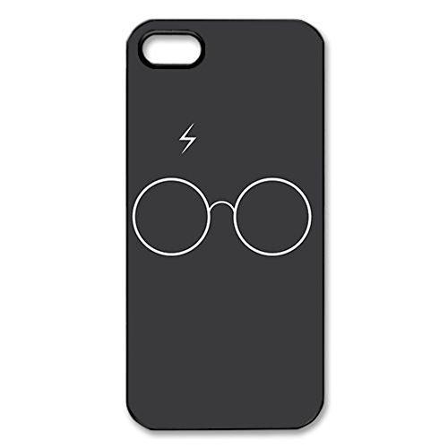harry-potter-hogwarts-crest-black-hard-cover-case-for-iphone-5-5s-case