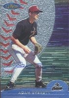 Adam Everett Houston Astros 2000 Topps Finest Autographed Hand Signed Trading Card -... by Hall+of+Fame+Memorabilia