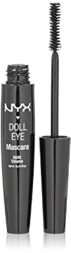 NYX Doll Eye Mascara, Extreme Black,…