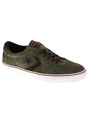 Converse Trapasso Pro II Skate Shoe - Men's Grape Leaf/White/Mole, 9.5