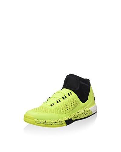 adidas Zapatillas 2015 Crazylight Boos Amarillo Flúor / Negro