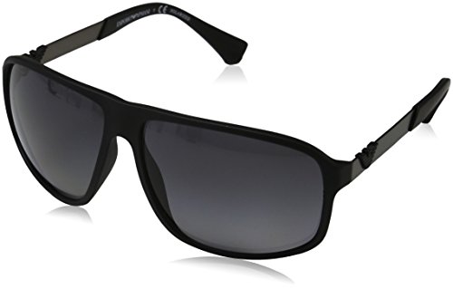 Armani-EA4029-Sunglasses-5063T3-64-Black-Rubber-Frame-Polar-Grey-Gradient