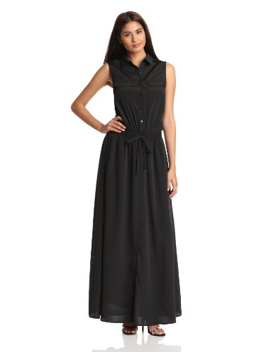 Kenneth Cole New York Women's Eden Dress, Black, Small