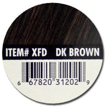 XFusion Dark Brown Keratin Hair Fibres 25g /.87 oz