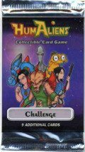 HumAliens CCG: Challenge Booster Pack - 1