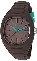 Puma Bubble Gum - L Dark Chocolate Men's watch #PU102881009