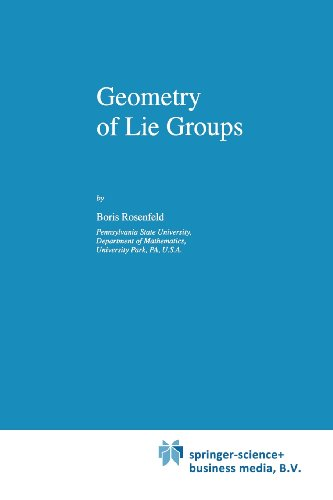 Geometry Of Lie Groups (Mathematics And Its Applications)