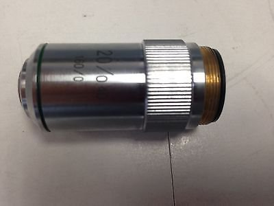 Used Microscope Objective 20/0.40 160/0 Lens Dh