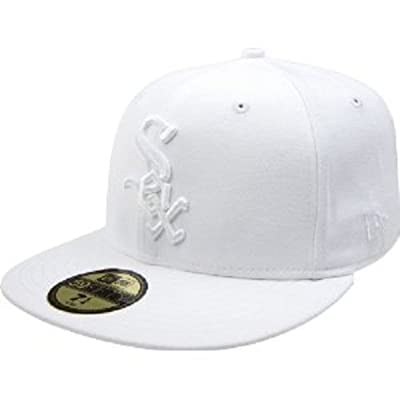 MLB Chicago White Sox White on White 59FIFTY Fitted Cap