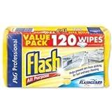 Flash computers VGFLW/120 - Flash All Purpose Wipes Lemon Pk120