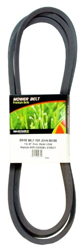 Maxpower 336383 Mower Belt For John Deere Models Gx20305 And Gy20571