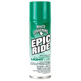 White Lightning Epic Ride All Conditions Light Bike Lubricant - 6oz Aerosol - E50060102