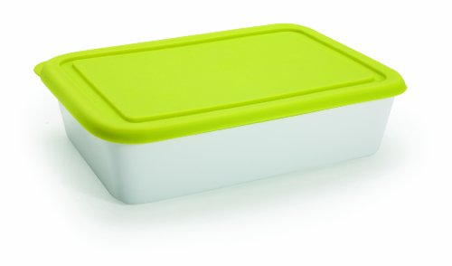 BIA Cordon Bleu Cook N Cover Rectangular Baker with Lid, Large (Green)