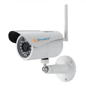 Learn More About Sharx Security SCNC3804 High Definition 720P Mini Wifi Weatherproof Outdoor IP Netw...