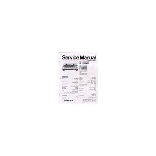 Technics Service Manual For SL1200/1210