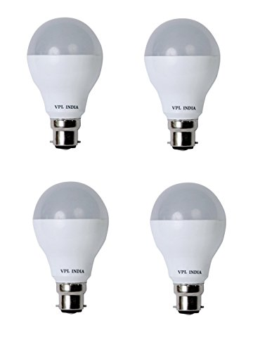 9 Watt LED Bulb (White, Pack of 4)