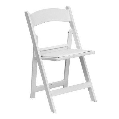 White Resin Folding Chair 3154