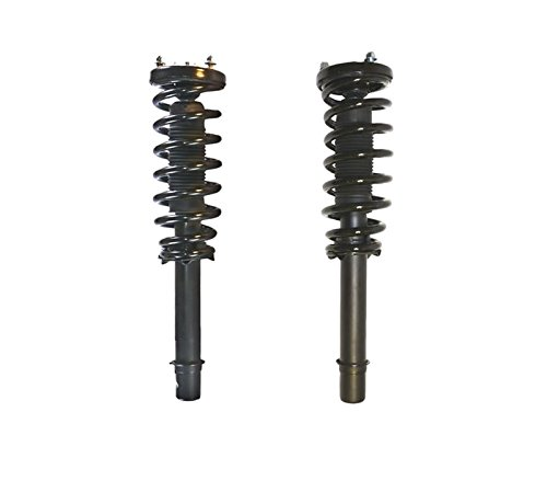 DTA 50092 Front Complete Strut Assemblies With Springs and Mounts Ready to Install OE Replacement 2-pc Pair Fits 2003-2007 Honda Accord, 4cyl Only (Honda Accord 07 Front Lip compare prices)