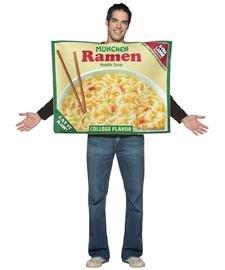 Ramen Noodle Adult Costume