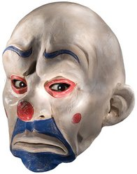 WMU - Batman Dark Knight Adult Joker Clown Mask, White, One-Size