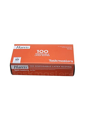 Harris Taskmaster 5091 - Guanti monouso in lattice, 100 pezzi