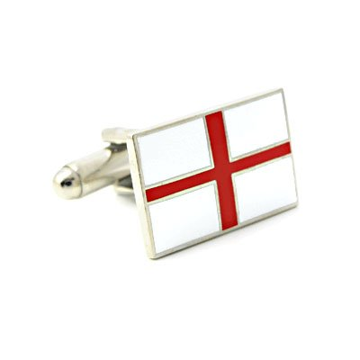 English Flag Cufflinks